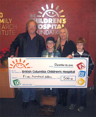 Kim and Jitka Johannsen Supporting BC Children's Hospital