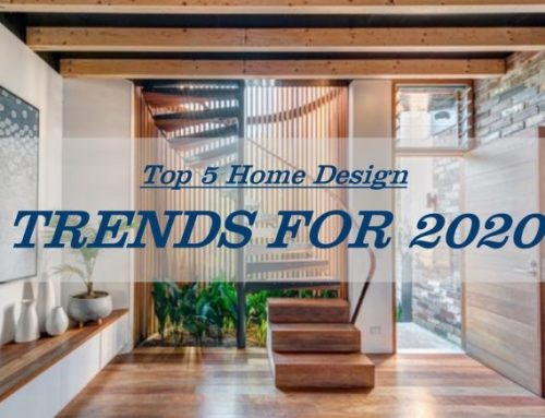 Top 5 Home Trends for 2020